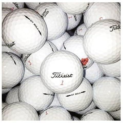 Titleist, Palline da golf Solo Grade B, 100 pz., Bianco (Weiß - weiß)