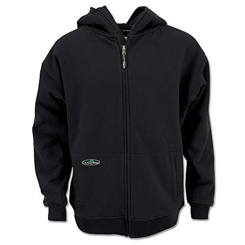 Arborwear Herren Single Thick Full Zip Sweatshirt 400341 - schwarz - Mittel Arborwear Pullover