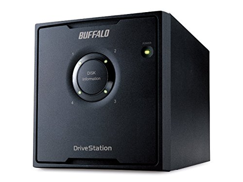 Buffalo Technology Deutschland Buffalo HD-QH8TU3R5-EU DriveStation Quad externe Festplatte 8TB (8,9 cm (3,5 Zoll), 4x 2TB, USB 3.0, 4x SATA) | 4981254018132