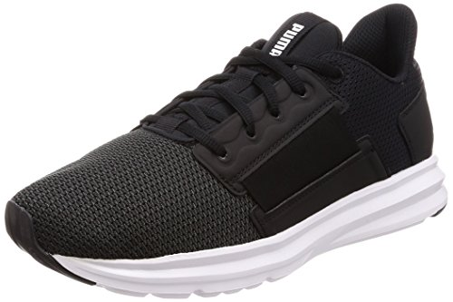 Puma Men's Black White Running Shoes - 8 UK/India (42 EU)(4059504822508)