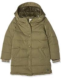 Scotch & Soda Padded Jacket with Velvet Hood Lining In Longer Length, Chaqueta para Niñas