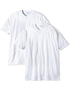 CASAMODA Herren T-Shirt 2 er Pack Comfort Fit 092180/0