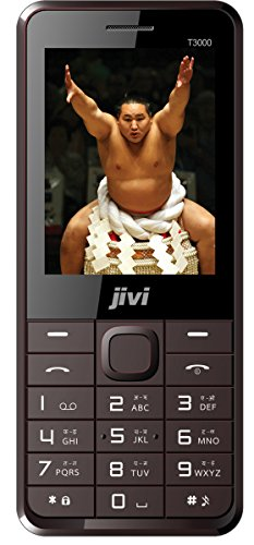 Jivi Sumo T3000 Coffee - Gold 2.8 Display 3600 MAh Battery Dual Sim Mobile Phone
