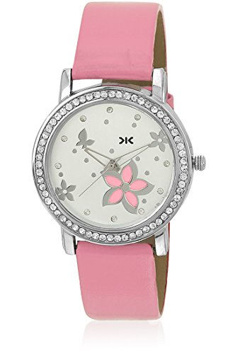 KILLER Analogue White Dial Women's Watch - KLW230D image