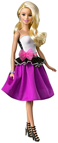 Barbie DJW58 - Barbie Cambia Look Bionda, Multicolore