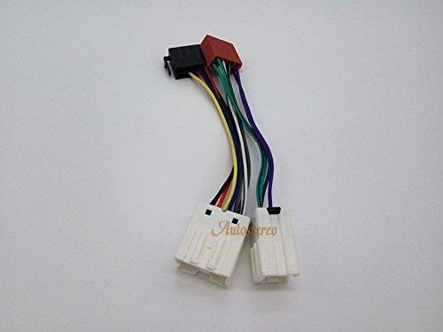 Autostereo 12-020 standard ISO-Adattatore cablaggio autoradio per NISSAN 2003 radio ISO per stereo audio cable - Nissan Radio Cablaggio
