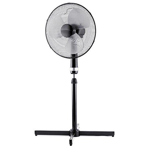 Brandson - Standventilator 40cm / schwarz