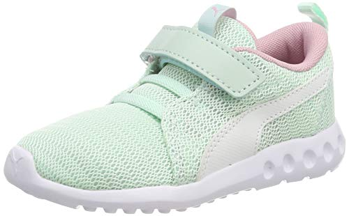 Puma Unisex-Kinder Carson 2 V Inf Sneaker, Blau (Fair Aqua White), 20 EU
