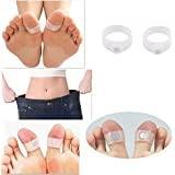 Hpk-India Slim Slimming Body Soft Silicone Double Toe Ring