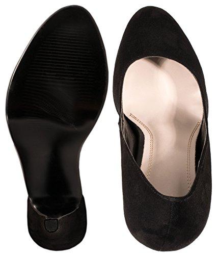 Elara - Scarpe con plateau Donna Nero (nero)
