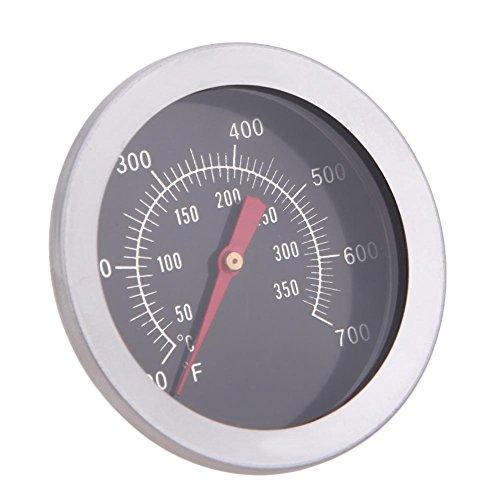 410wXW3mXvL - Haushaltsthermometer Bratenthermometer Edelstahl BBQ Zubehör Grill Fleisch Thermometer Zifferblatt Temperatur