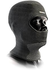 X-Bionic Unisex Ow Stormcap Face Accessorio Tecnico Multisport, Unisex adulto, Nero (Black/Anthracite), 1