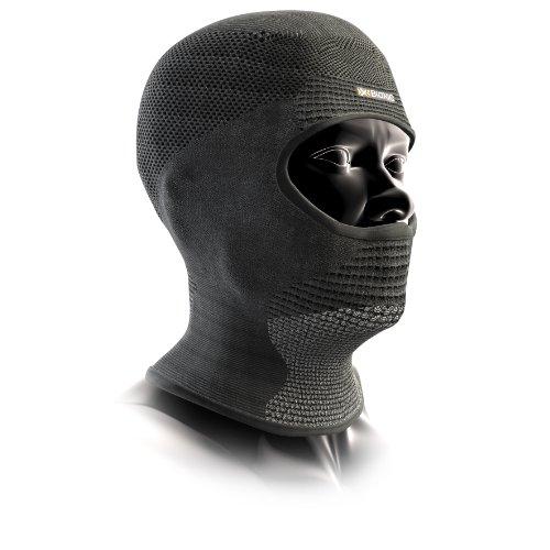 X-Bionic Erwachsene Funktionsbekleidung OW Stormcap Face, Black/Anthracite, 1, O020226 (Maske Recon)