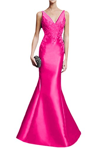 Victory Bridal - Robe - Crayon - Femme Rose - Rose bonbon