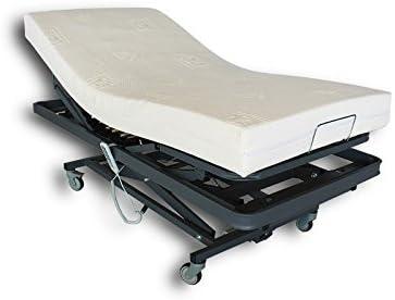 Ventadecolchones - Camas Articuladas Geriátrica de Hospital con colchon Visco 10 + 5
