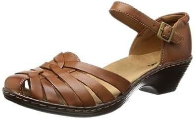 Clarks Haler Land, Women Sandals, Brown (Tan Leather), 3.5 UK