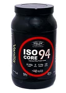 Sinew IsoCore 94 - Whey Protein Isolate - 2lb Vanilla