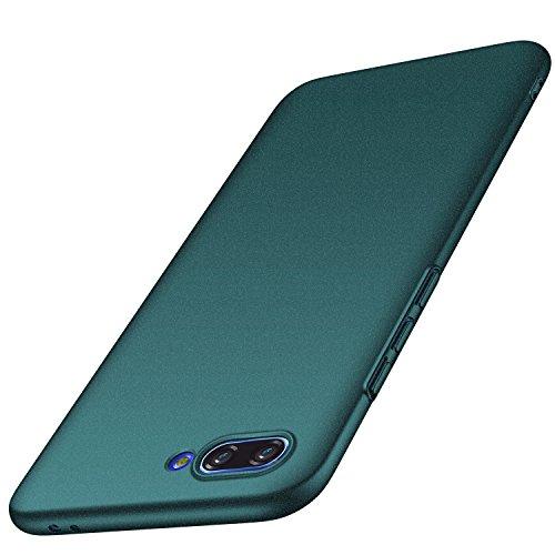 anccer Huawei Honor 10 Hülle, [Serie Matte] Elastische Schockabsorption und Ultra Thin Design für Huawei Honor 10 (Kies Grün) -