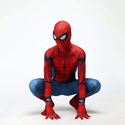 Iron Spiderman Cosplay Kostüm Halloween Party 3D Print Spandex Kostüm Requisiten Erwachsene Kind ()