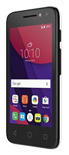 Alcatel PIXI 4 - Smartphone  4   SIM Doble  Android  MicroSIM  Edge  GPRS  gsm  HSPA   UMTS  Micro-USB  Color Negro Blanco