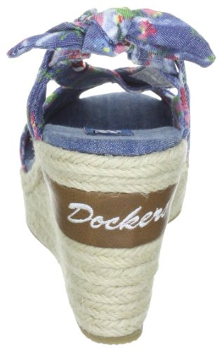 Dockers by Gerli 303250-211585, Sandales femme TR-B2-Bleu-345