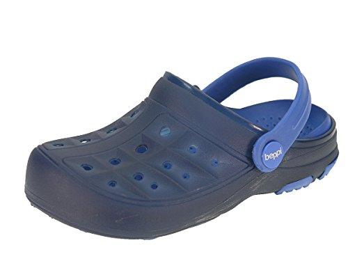 Bambini Beppi zoccoli scarpe estive pantofole per ragazzi e ragazze Blau