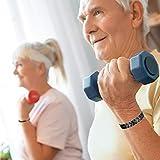 Jeracol Fashion Jewelry edlen Titan Magnettherapie Armband Schmerzlinderung für Arthritis Karpaltunnelsyndrom Sehnenscheidenentzündung Tennis Elbow RSI Gelenk und Handgelenk - 3