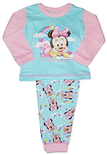 Disney Minnie Mouse Little Dreamer bébé Filles Pyjamas 9-12 Mois (80cm)