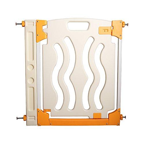 YNN Porte d'escalier réglable de sécurité 72-116 Cm sans percer ouvert comme une porte (taille : 81-89cm (+1 extensions))