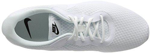 Nike Wmns Tanjun, Chaussures de Sport Mixte Adulte Blanc (White/White/Black)