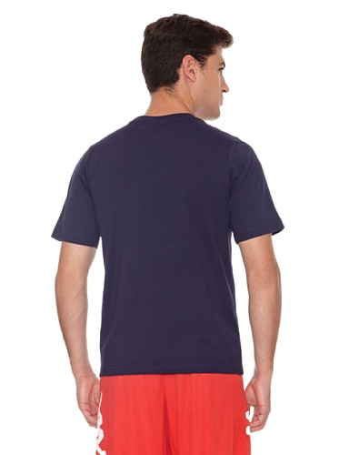 T-shirt - Basic Cromen Blue Marine