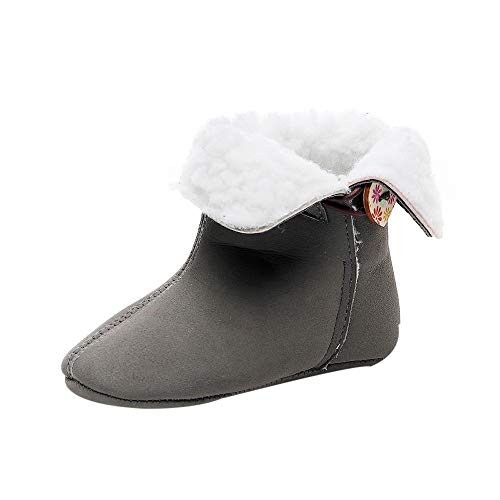 LEXUPE Baby Schuhe, Neugeborene Kleinkind Baby MäDchen Solid Print Wintermütze Erste Wanderer Schuhe