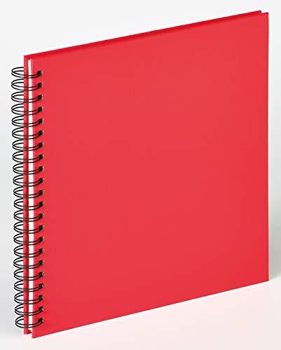 walther design SA-310-U Spiralalbum Fun Rot, 30x30 cm, ohne Ausschnitt