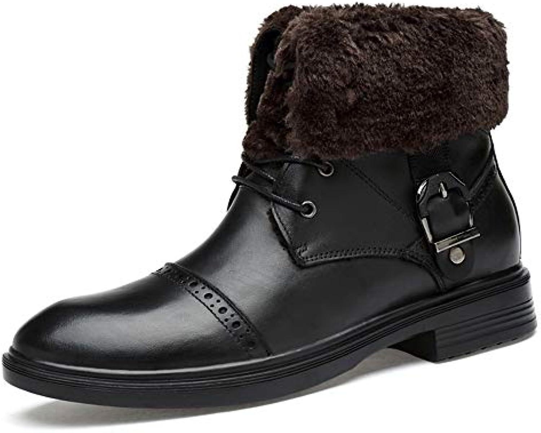 Stivale da Lavoro alla Caviglia da Uomo Uomo Uomo alla Moda Stivaletto da Uomo alla Moda da Due Indumenti Invernale Interno...   Buona qualità    Maschio/Ragazze Scarpa  e98144