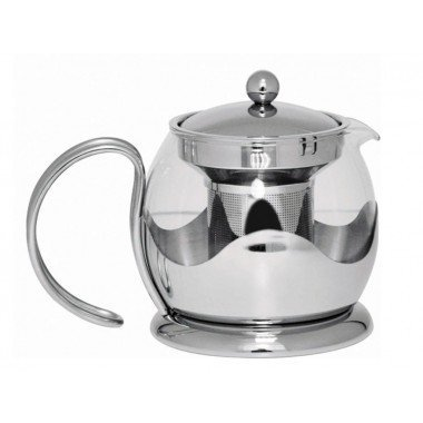 Sabichi 750 ml Glass Teapot with Infuser Test
