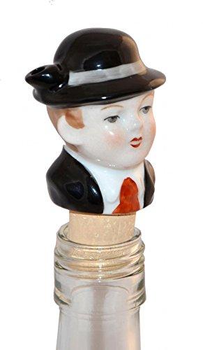 Flaschenausgießer aus Porzellan 'Seppl'