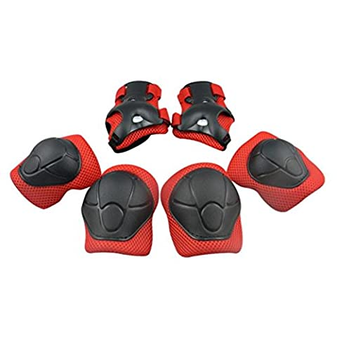 Knee Pads for Children Skating Skateboarding Bike Knee pad Tools Knee Elbow Pads Wrist Pad Knee Pads Safety Protector