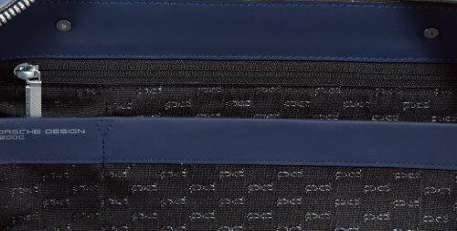Porsche Design 4090001075, Borsa a mano unisex adulto 48x38x20 cm (L x A x P), Blu (Blau (dark blue 402)), 48x38x20 cm (L X A x P) Blu (Blau (dark blue 402))