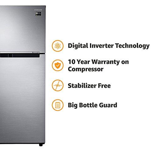 db715680973 Buy Samsung 253 L 2 Star Frost Free Double Door Refrigerator (RT28M3022S8