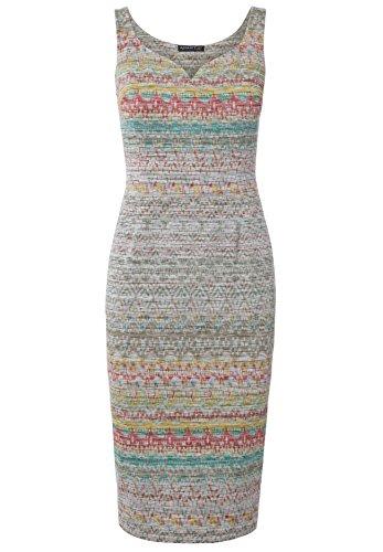 Jerseykleid Carmen Multicolor