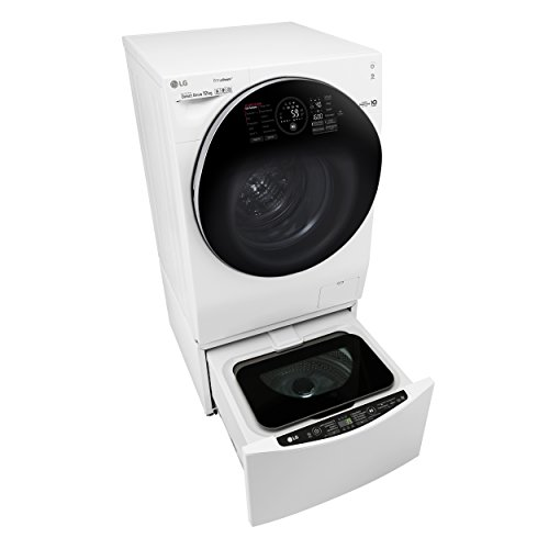 LG Electronics F 6WD 128TWIN Wash Set: F 16WD 128GH Waschtrockner Frontlader + T 7WM 2Mini...