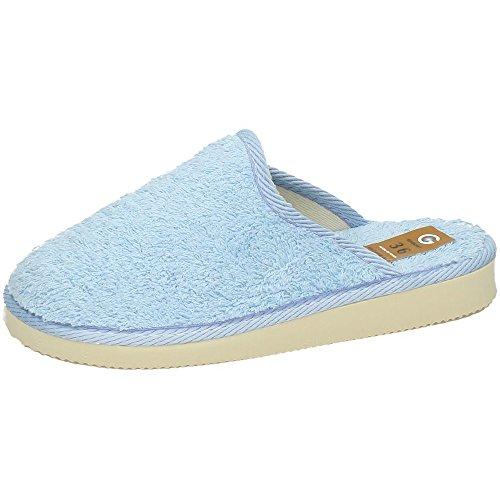 GEMA GARCIA, Pantofole donna Azzurro