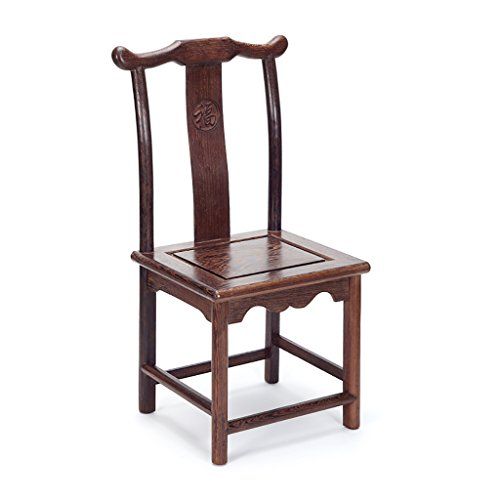 MXXYZ Klappsessel klappstühle Stuhl Chinese Retro Stuhl aus massivem Holz Kinderstuhl Schuhbank Unterer Hocker Kleiner Esszimmerstuhl Antiker Stuhl Stuhl aus massivem Holz (Color : A)