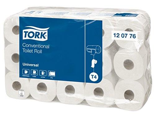 TORK 120776   PACK DE 30 ROLLOS DE PAPEL HIGIENICO X 400 HOJAS  2 CAPAS  COLOR BLANCO