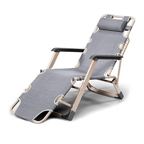 WZLDP Klappbett Einzelbett Mittag einfache Klappstuhl Mittagspause Stuhl Büro Nickerchen Bett Feldbett Stuhl (Farbe : #2)