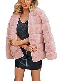 Amazon.it  quadro - Giacche e cappotti   Donna  Abbigliamento a1ba43179c8