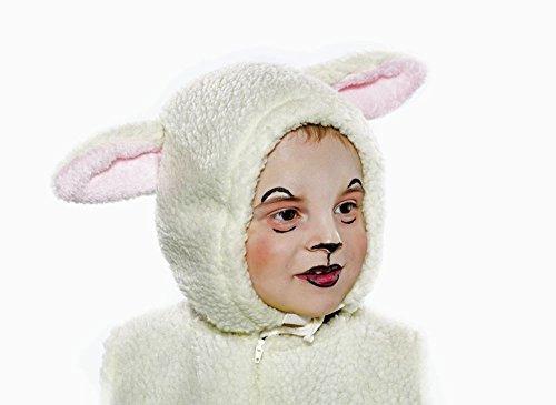 Schäfchen Kostüm - Festartikel Müller Kostüm Zubehör Kinder Mütze Schaf Lamm Karneval Fasching
