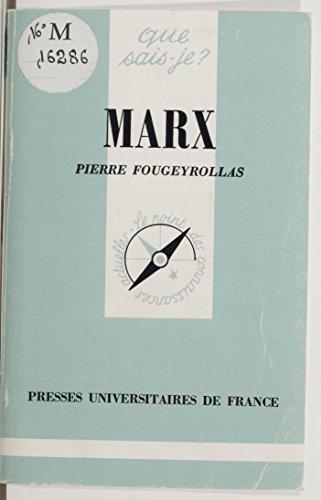 Téléchargement d'ebooks en suédois Marx PDF by Pierre Fougeyrollas