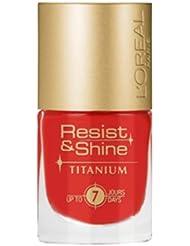 L'Oréal Paris Resist & Shine Titanium Nagellack, 505