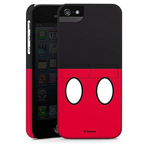 Apple iPhone X Silikon Hülle Case Schutzhülle Disney Mickey Mouse Hosen Geschenke Merchandise Premium Case StandUp